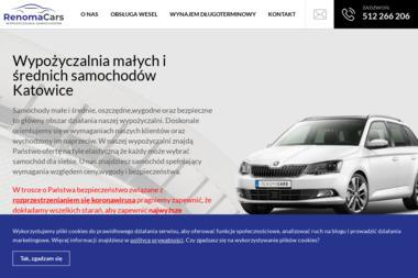 Renoma Usługi Finansowe Sp. z o.o. - Wypożyczalnia samochodów Katowice