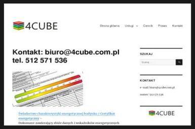 4CUBE - Zabudowa Biura Wąbrzeźno