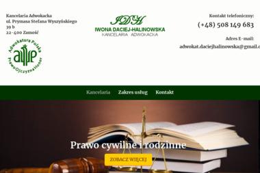 Adwokat Iwona Daciej-Halinowska - Windykacja Zamość