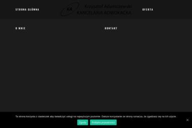 Krzysztof Adamczewski Kancelaria Adwokacja - Windykacja Krzyż Wielkopolski