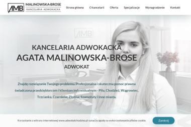 Kancelaria Adwokacka Adwokat Agata Malinowska - Firma Windykacyjna Chodzież