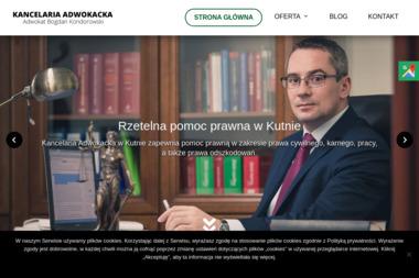 Kancelaria Adwokacka Adwokat Bogdan Kondorowski - Windykacja Kutno