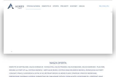 Agres Capital - Biznes plan Białystok