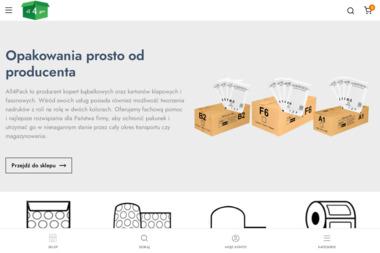 All4pack - Producent Opakowań Kartonowych i Foliowych - Wyposażenie firmy i biura Inowrocław