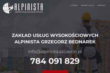 ZUW Alpinista - Prace wysokościowe Szczecin