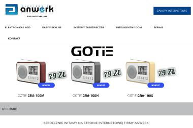 F.H.U Anwerk - Naprawa drobnego sprzętu AGD Oświęcim