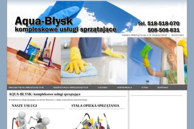 Aqua-Błysk - Sprzątanie biur Legionowo