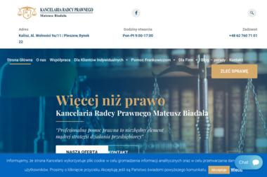 Kancelaria Radcy Prawnego Mateusz Biadała - Windykacja Kalisz