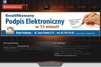 BialskieStrony. pl - Strony internetowe Biała Podlaska