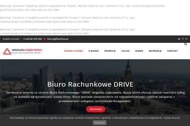 Biuro rachunkowe DRIVE - Finanse Wieruszów