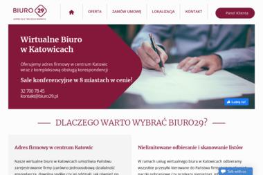 BIURO29 - Wirtualny Adres Katowice