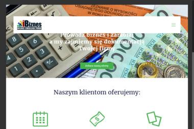 """Biuro Obsługi Firm """"""""BIZNES"""""""" - Sprawozdania Finansowe Pisz"""