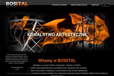 BOSSTAL -Kowalstwo Artystyczne - Ogrodzenia kute Kęty