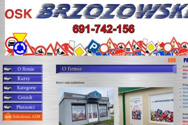 OSK Brzozowski - Szkoła Nauki Jazdy Oleśnica