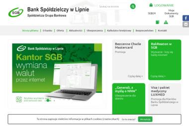 Bank Spółdzielczy w Lipnie - Kredyt dla firm Lipno