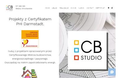 Pracownia Projektowa CB STUDIO - Projekty domów Bielany wrocławskie