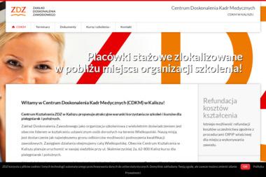 Zakład Doskonalenia Zawodowego Centrum Kształcenia w Kaliszu - Kurs Pierwszej Pomocy Przedmedycznej Kalisz