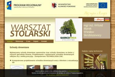 Warsztat stolarski Skrobiszewscy - Schody Golub-Dobrzyń