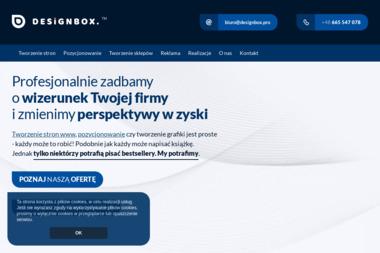 DesignBox - Agencja interaktywna - Strony internetowe Września