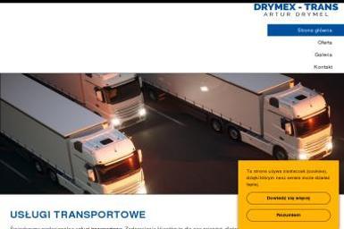 Drymex-Trans - Transport międzynarodowy Lębork