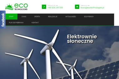 Eco Technologies - Energia Geotermalna Łomża