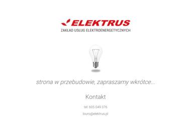 Zakład usług elektroenergetycznych ELEKTRUS - Alarmy Żywiec