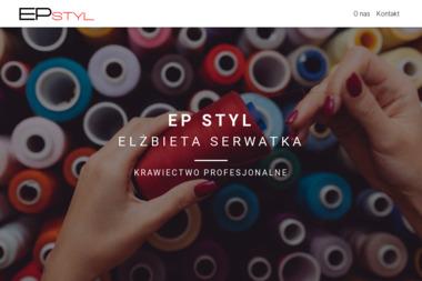 EP Styl - Pracownia krawiecka - Usługi Krawieckie Nowy Sącz