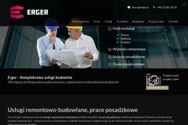 ERGER SP. Z O. O. - Wylewki Samopoziomujące Wieliczka