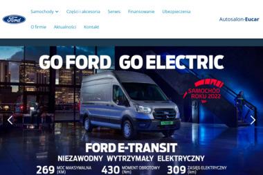 Eucar dealer samochodów Ford - Sprzedawcy samochodów dostawczych Ełk