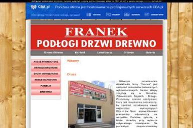 FRANEK Podłogi Drzwi Drewno - Drzwi Antywłamaniowe Ząbkowice Śląskie