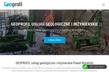 Geoprofil Paweł Różański - Geologia Kraków