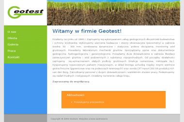 GEOTEST Łukasz Swat - Geolodzy Warszawa