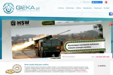 GIEKA Grzegorz Klucha - Agencja interaktywna Stalowa Wola
