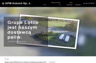 GPM Kożuch Sp.J. - Hurtownia Oleju Opałowego Panki