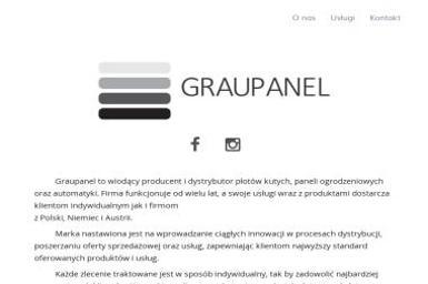Graupanel - Producent Ogrodzeń Gorzów Wielkopolski