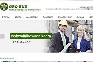 Firma Budowlano-Instalacyjna GRO-BUD - Powietrzne Pompy Ciepła Mielec