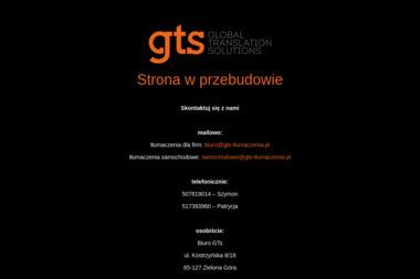 GTsolutions - Tłumacze Zielona Góra