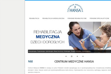 Centrum Medyczne HANSA - Rehabilitant Bia艂ystok