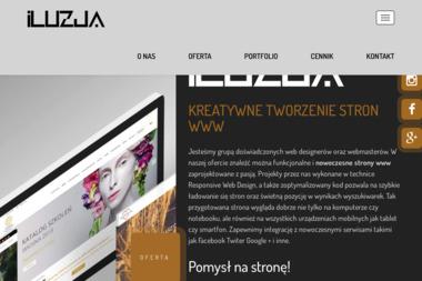 ILUZJA - Strony Internetowe Będzin
