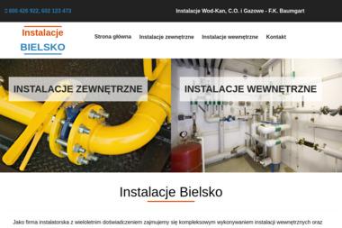 Instalacje Wod-Kan, C.O. i Gazowe – F.K. Baumgart - Wentylacja Mechaniczna Bielsko-Biała