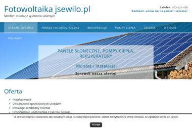 Fotowoltaika Jerzy Sewiło - Energia odnawialna Szczyrzyc