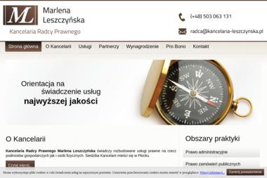 Kancelaria Radcy Prawnego Marlena Leszczyńska - Windykacja Płock