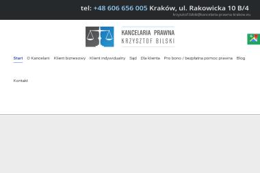 Kancelaria Prawna Krzysztof Bilski i Wspólnicy sp.k. - Obsługa prawna firm Kraków