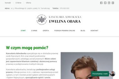 Kancelaria Adwokacka Ewelina Obara - Obsługa prawna firm Tarnobrzeg