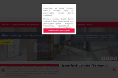 Komfort - Okna drewniane Puławy