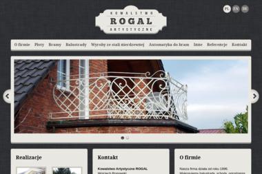 Kowalstwo Artystyczne ROGAL - Ogrodzenia Ogrodowe Dzierżoniów