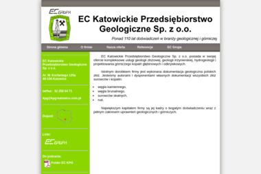 EC Katowickie Przedsiębiorstwo Geologiczne Sp. z o.o. - Geolog Katowice