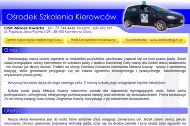 OSK Miłosz Kwarta - Kurs Na Prawo Jazdy Kamienna Góra