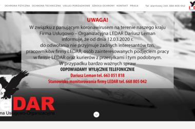 Firma Usługowo-Organizacyjna LEDAR - Sprzątanie Firm Wieluń
