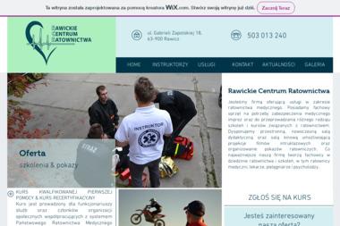Rawickie Centrum Ratownictwa - Kurs Kwalifikowanej Pierwszej Pomocy Rawicz